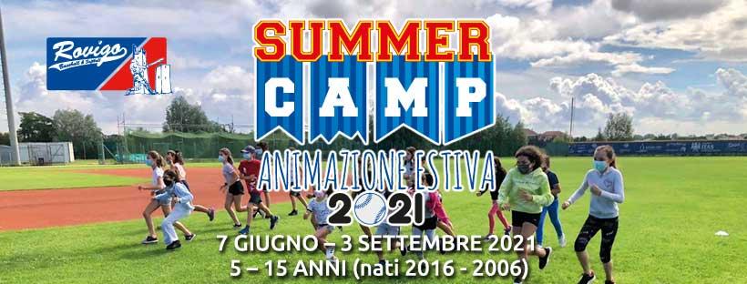 Summer Camp 2021 - Animazione Estiva BSC Rovigo