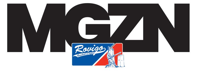 MGZN La rivista ufficiale del BSC Rovigo