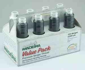 Madeira Aerolock Premium Serger Thread Value Pack - 8 Spool Collection