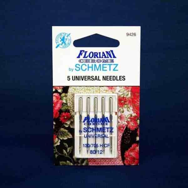 Floriani Chome Universal Needles Size 80/12 (9426)