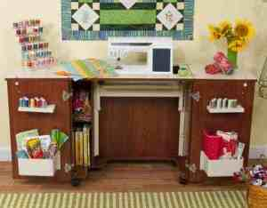 Kangaroo Bandicoot Sewing Machine Cabinet (K8205)
