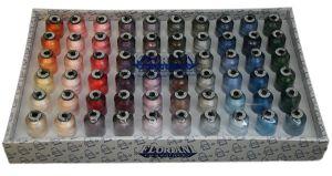 Floriani 60 Spool Embroidery Thread - 1000M - FL-N60TS