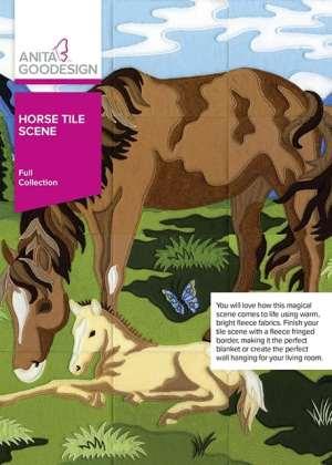 Anita Goodesign Horse Tile Scene Embroidery Collection