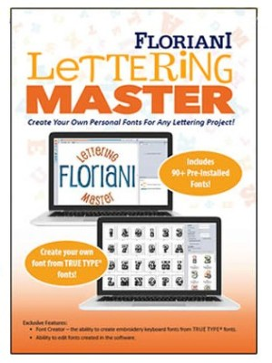 Floriani Lettering Master - Embroidery Lettering Software