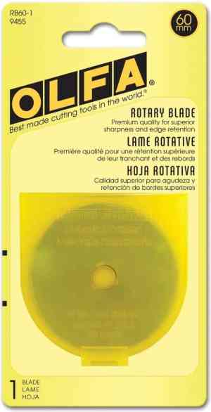 Olfa Rotary Cutter Blade Refill - 60mm (1 pack)