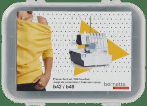 Bernette Serger 6 Piece Presser Foot Set for the Bernette B42 and B48