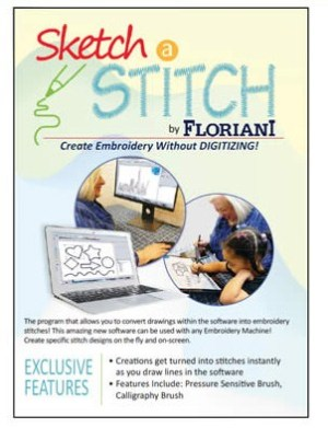 Floriani Sketch a Stitch Embroidery Software