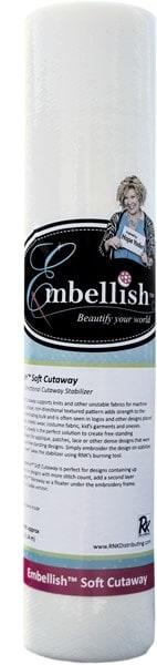 """Embellish Soft Cutaway 20"""" x 10 yd - Designs by Hope Yoder"""