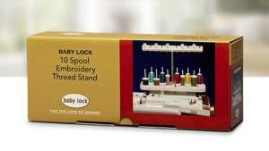 Baby Lock 10 Spool Embroidery Thread Stand