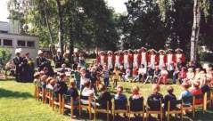 Schützenfest 1997: Im Ev. Kindergarten