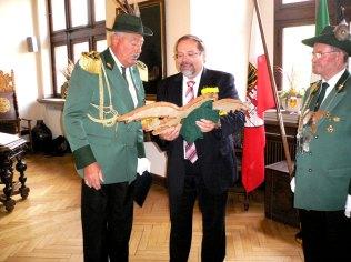 Empfang beim Oberbürgermeister Adolf Sauerland