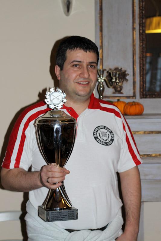 Preis- und Pokalschießen 2010: Vereinsmeister Frank Bosch