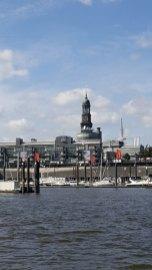 Offiziere in Hamburg