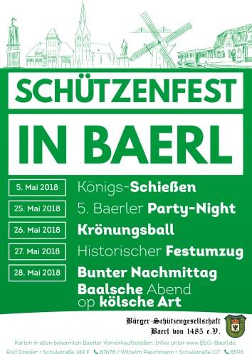 Schützenfest 2018 in Baerl