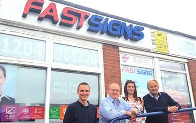 FIRST YEAR VICTORIES FOR FASTSIGNS FRANCHISEES