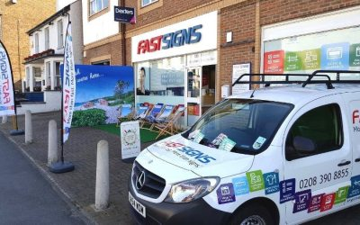 FASTSIGNS KINGSTON PRODUCT PORTFOLIO GROWS AS CENTRE EXPANDS