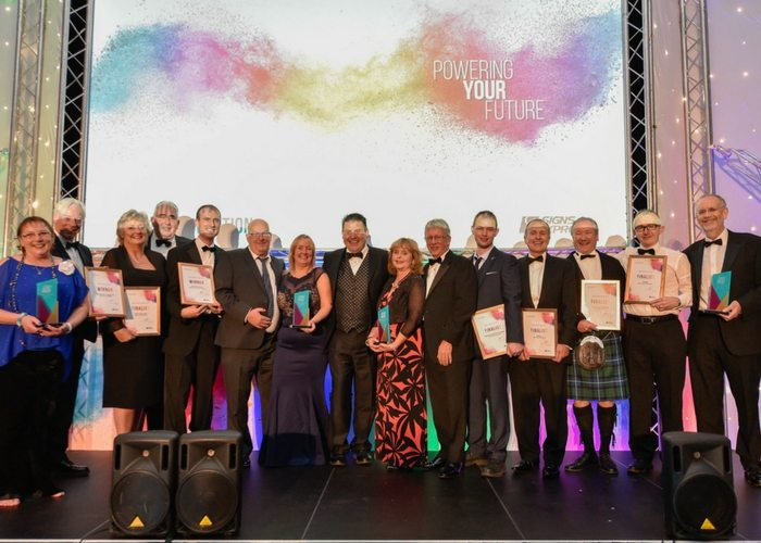 Awards top off a best-ever year for Signs Express