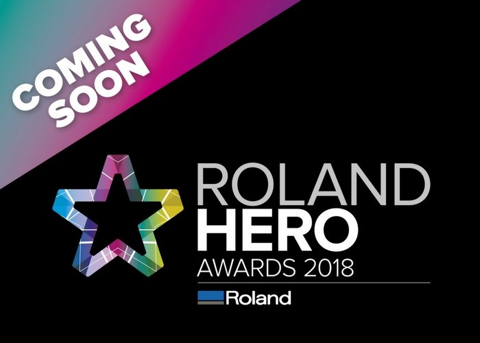 Roland DG to celebrate customers with Roland Hero Awards 2018