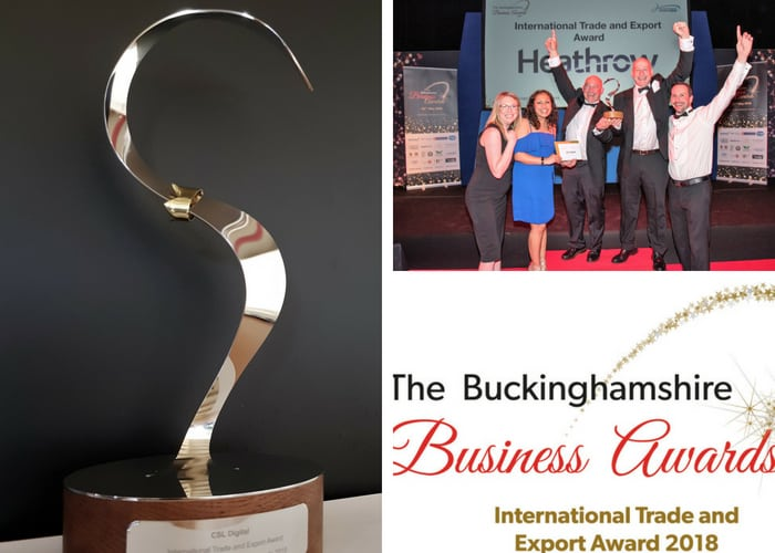 CSL Digital lands International Trade and Export Business Award