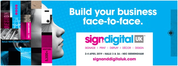 Sign & Digital UK launches 2019'Face-to-face' show website