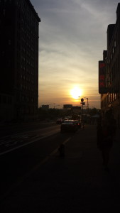 My one daylight photo away from the High Line. It was Solstice Day!