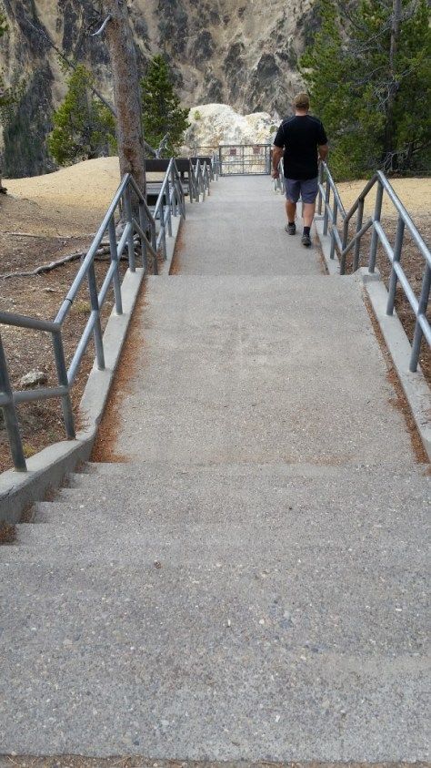 Stairway to Grand Canyon