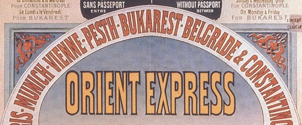 Aboard the Orient Express August 29th to September 3rd ...