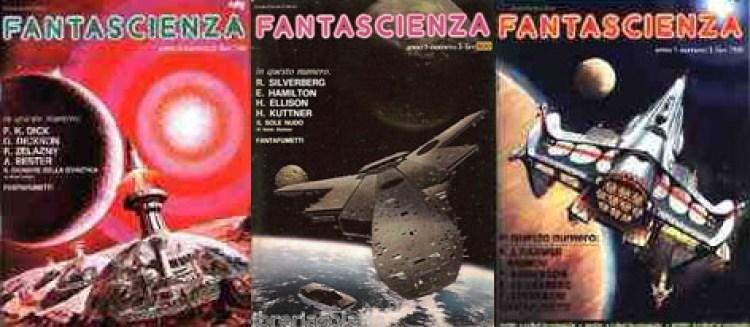 """Intervista a MAURIZIO NATI  Copertine della rivista """"Fantascienza Ciscato"""""""