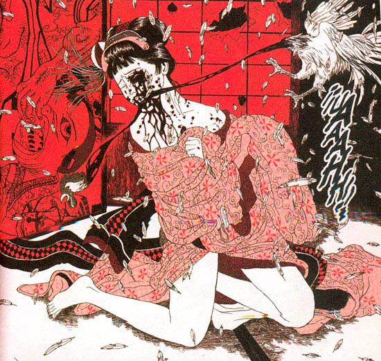 """Suehiro Maruo: """"Midori. La Ragazza delle Camelie"""""""