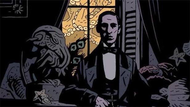 H. P. Lovecraft visto da Mike Mignola