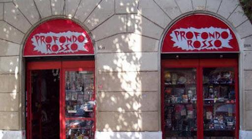La libreria Profondo Rosso a Roma in Via dei Gracchi