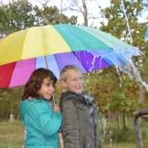 onder de paraplu
