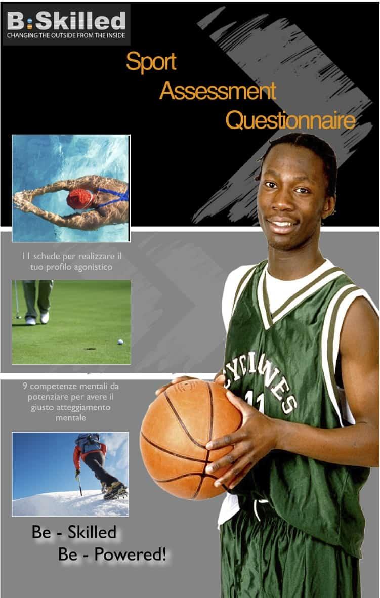 BSKILLED - Psicologia dello sport e della performance Sport Assessment Questionnaire valutazione mentale test questionari psicologia dello sport profilo della atleta performing profile