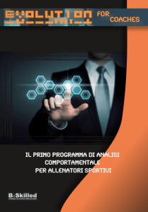 BSKILLED - Psicologia dello sport e della performance Evolution4Coaches: il training mentale per allenatori video analisi Torino psicologia sportiva psicologia dello sport prestazione pisa soccer school performance parma football school gladys bounous gara Evolution for coaches analisi comportamentale allenatori allenatore sportivo allenamento alessandro simili