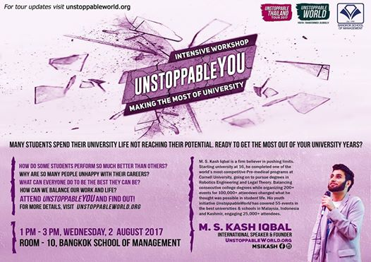 #UnstoppableYou – Making the Most of University!