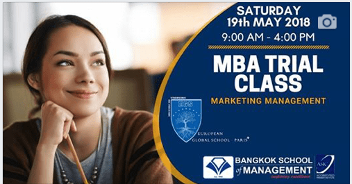 Date: May 19 th   MBA Trial Class: Marketing Management