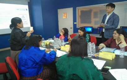 5-Day Training Programme on Office Management and Effective Administrative Skills for 11 officers of Financial Institutional Training Institute (FITI) Bhutan, 7-11 January 2019