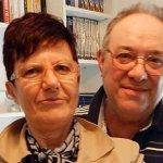 Frank Serramondi e la moglie