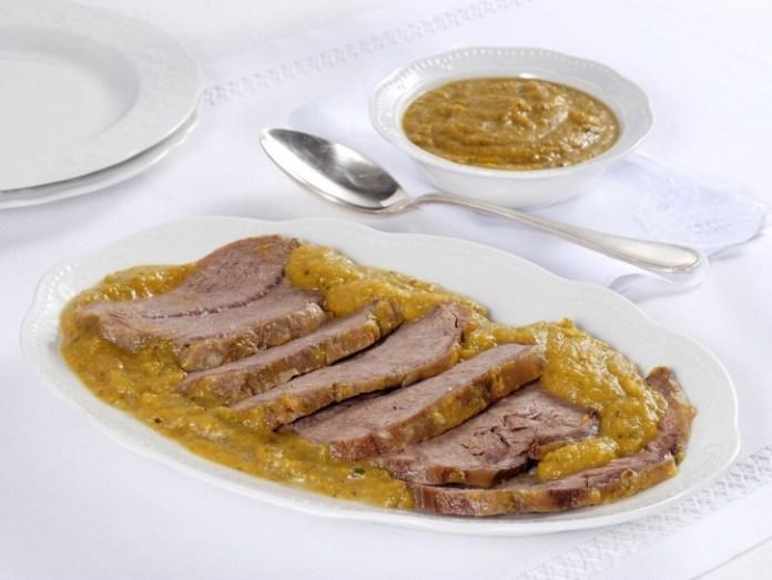 Il manzo all'olio è il piatto tipico di Rovato