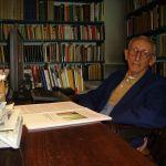 L'architetto e urbanista Leonardo Benevolo