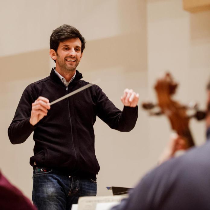 Il musicista Giulio Piccinelli