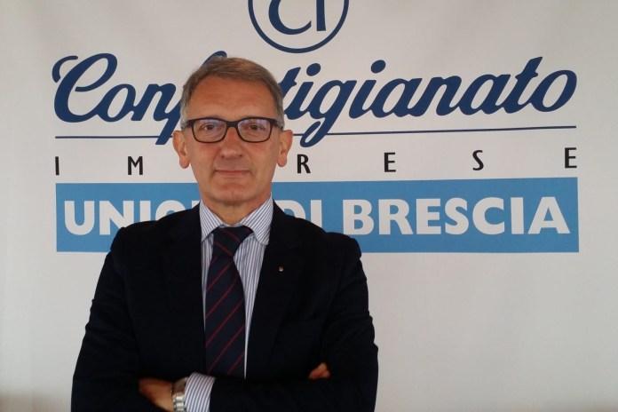 ECONOMIA A BRESCIA - Eugenio Massetti (presidente Confartigianato) - diritti Andrea Tortelli
