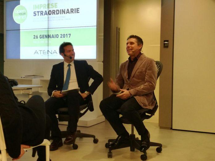 Raul Cremona ospite di Atena (scuola di formazione) a Brescia