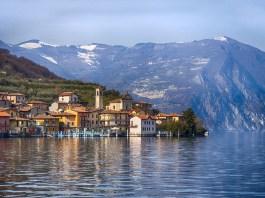 Monte Isola è la più grande isola lacustre d'Italia
