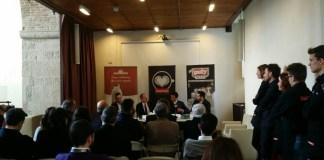 La presentazione del Trismoka Challenge 2017, promosso dall'azienda guidata dall'iseano Paolo Uberti. www.bsnews.it