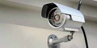 Telecamere di videosorveglianza, foto generica