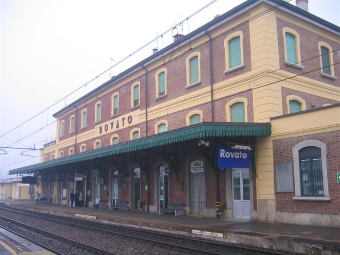 Rovato stazione vista lato binari - foto Mario Vilardi - www.bsnews.it