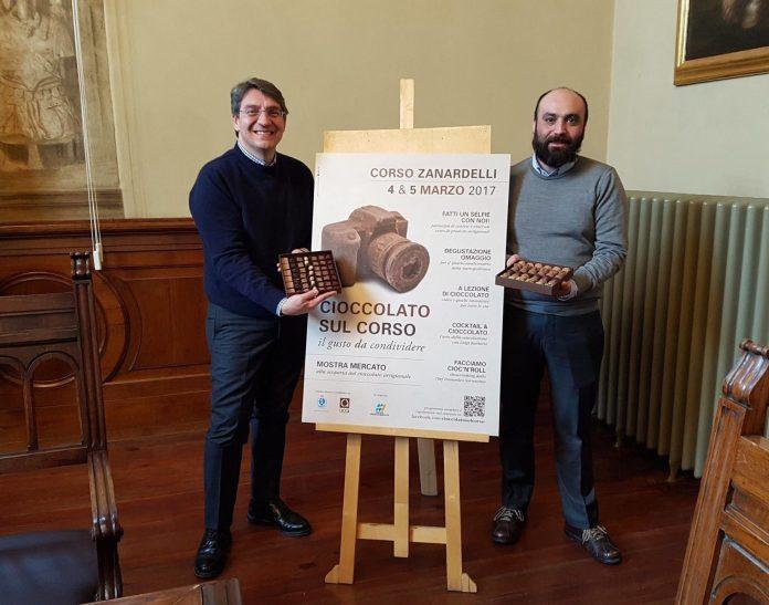 Il sindaco Emilio Del Bono presenta Cioccolato in corso 2017