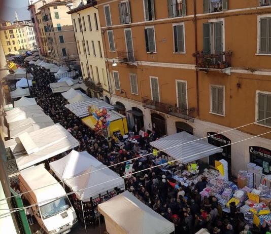 La festa di San Faustino a Brescia, foto da profilo Facebook sindaco Emilio Del Bono - www.bsnews.it