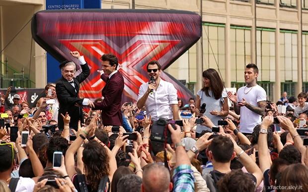 X Factor, i provini di una vecchia edizione
